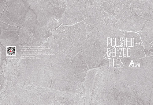 poushed clazed tiles cover